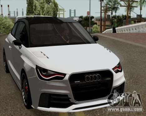 Audi A1 Clubsport Quattro for GTA San Andreas