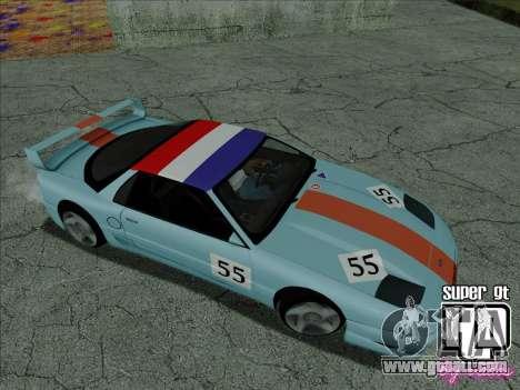 Super GT HD for GTA San Andreas wheels