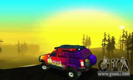 Uaz Patriot Trial for GTA San Andreas engine