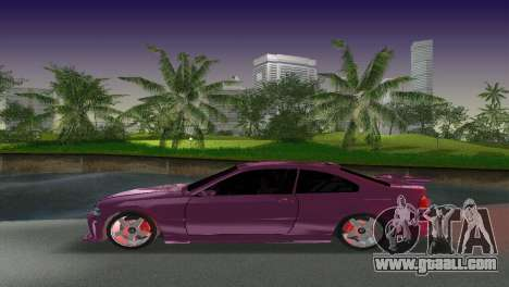 BMW M3 E46 Hamann for GTA Vice City upper view