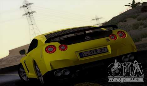 Nissan GT-R Carbon for GTA San Andreas left view