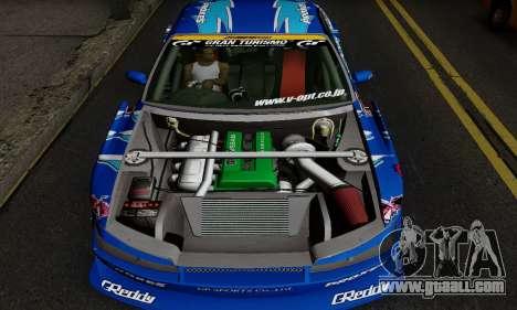 Nissan Silvia S15 Toyo Drift for GTA San Andreas back left view