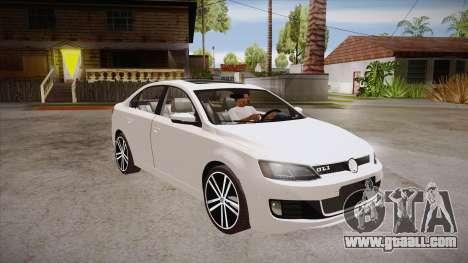 VW Jetta GLI 2013 for GTA San Andreas back view