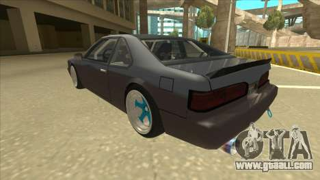 Fortune Drift for GTA San Andreas back view