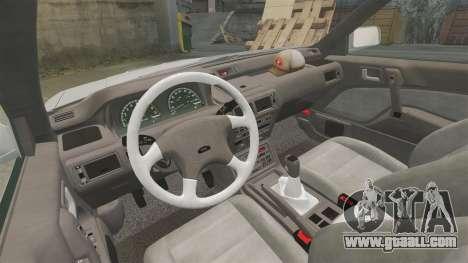 Mitsubishi Galant v2.0 for GTA 4 back view