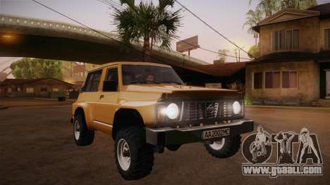 Nissan Patrol Y60 for GTA San Andreas back view