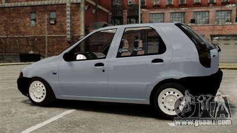 Fiat Palio EDX 1997 for GTA 4 left view
