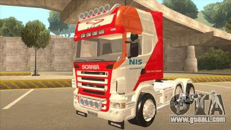 Scania R620 Nis Kamion for GTA San Andreas