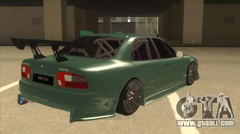 Proton Wira with s15 front end for GTA San Andreas right view