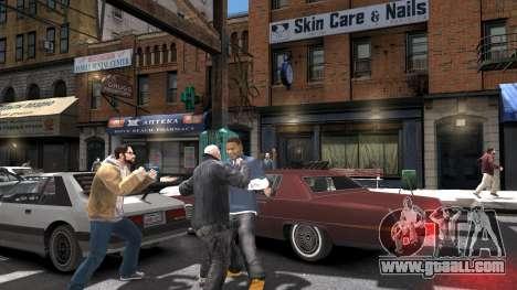 Franklin of GTA 5 for GTA 4 forth screenshot