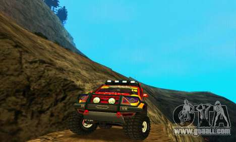 Uaz Patriot Trial for GTA San Andreas right view