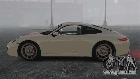 Porsche 911 Carrera S 2012 v2.0 for GTA 4 left view