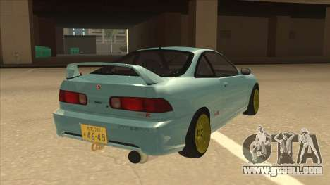 Honda Integra JDM Version for GTA San Andreas right view