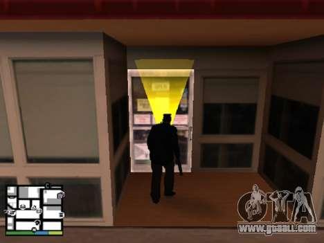 System robberies v1.0 for GTA San Andreas third screenshot