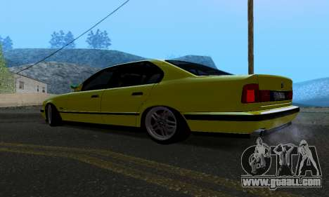 BMW M5 E34 IVLM v2.0.2 for GTA San Andreas back left view