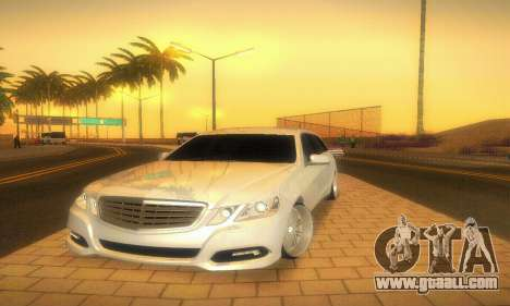 Mercedes-Benz E350 Wagon for GTA San Andreas