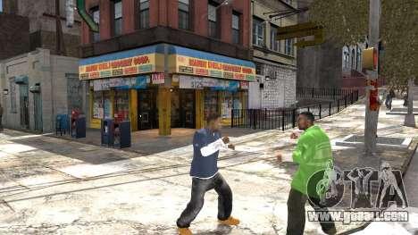 Franklin of GTA 5 for GTA 4 fifth screenshot