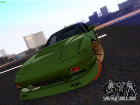 Nissan 180sx Takahiro Kiato for GTA San Andreas side view