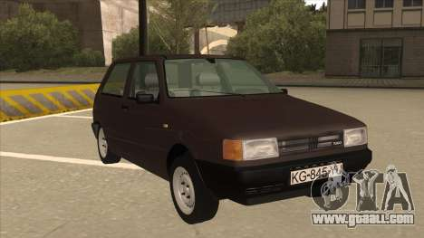 Yugo Uno 45 R 1994 for GTA San Andreas left view