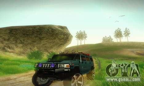 Hummer H2 Monster for GTA San Andreas