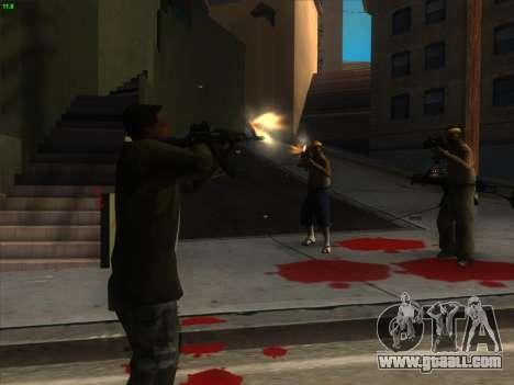 AK-103 for GTA San Andreas third screenshot