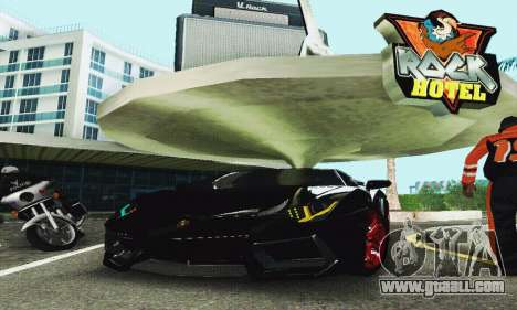 Lamborghini Aventador LP700 for GTA San Andreas inner view