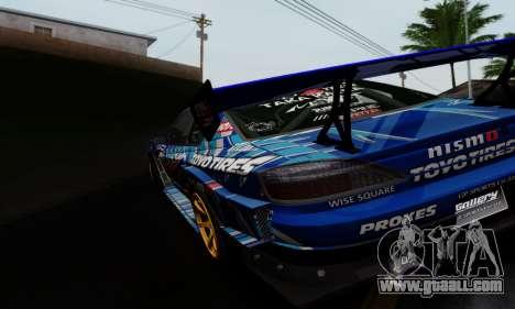 Nissan Silvia S15 Toyo Drift for GTA San Andreas right view