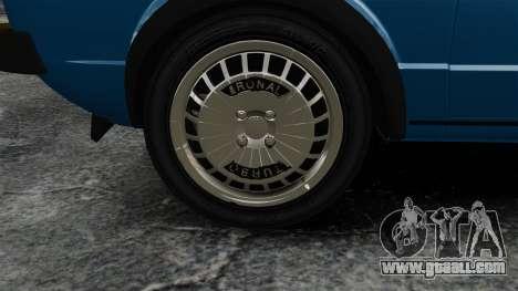 Volkswagen Golf MK1 GTI Update v2 for GTA 4 back view