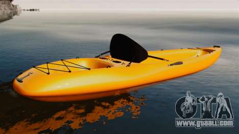 Canoeing for GTA 4 left view
