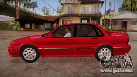 Mitsubishi Galant VR-4 (E39A) 1987 HQLM for GTA San Andreas left view