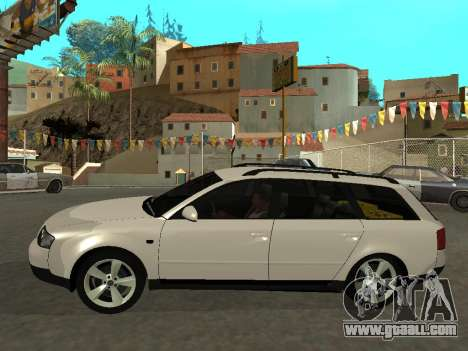 Audi A6 (C5) Avant for GTA San Andreas left view