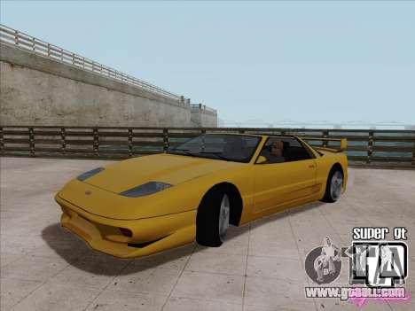 Super GT HD for GTA San Andreas left view