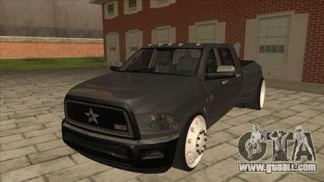 Dodge Ram Laramie Low for GTA San Andreas