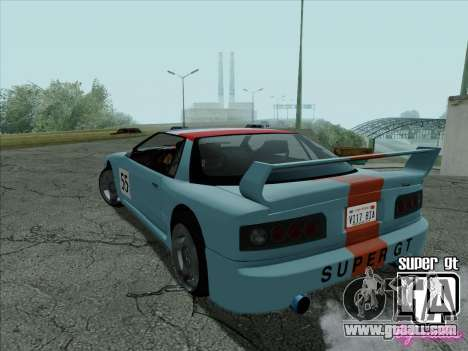 Super GT HD for GTA San Andreas engine
