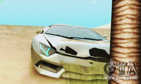 Lamborghini Aventador LP700 for GTA San Andreas engine