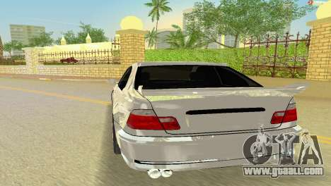 BMW M3 E46 Hamann for GTA Vice City back view