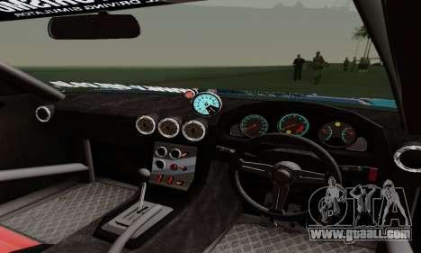 Nissan Silvia S15 Toyo Drift for GTA San Andreas upper view