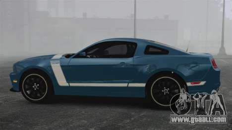 Ford Mustang BOSS 2013 for GTA 4 left view