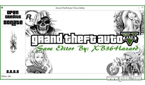 GTA 5 Grand Theft Auto V Save Editor by XB36Hazard