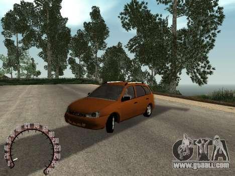 Lada 1117 Kalina for GTA San Andreas