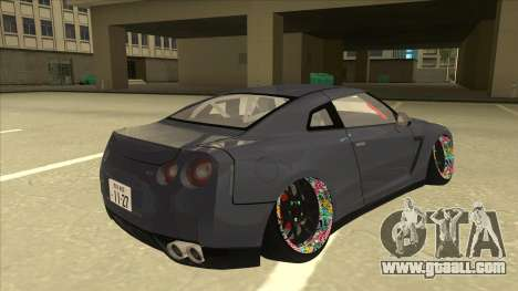 Nissan GT-R R35 Camber Killer for GTA San Andreas right view