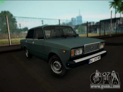 LADA 2107 Riva for GTA San Andreas