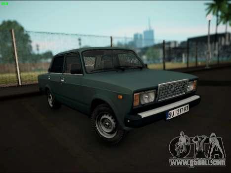 LADA 2107 Riva for GTA San Andreas