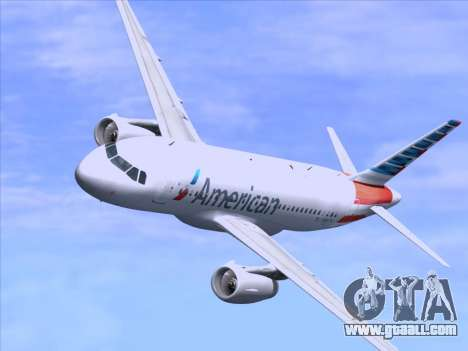Airbus A319-112 American Airlines for GTA San Andreas engine