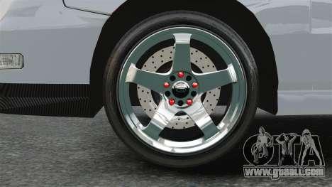 Acura Integra Type-R Domo Kun for GTA 4 back view