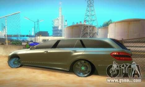 Mercedes-Benz E350 Wagon for GTA San Andreas right view