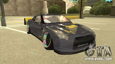 Nissan GT-R R35 Camber Killer for GTA San Andreas left view