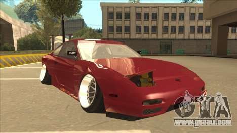 Nissan Silvia S18-5 for GTA San Andreas left view