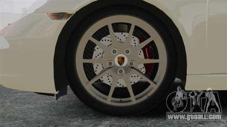 Porsche 911 Carrera S 2012 v2.0 for GTA 4 back view