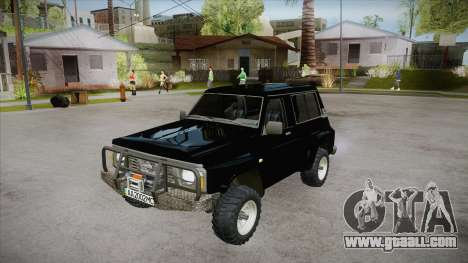 Nissan Patrol Y60 for GTA San Andreas interior